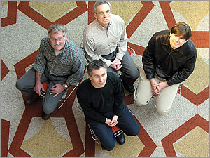 Andrej Sali, Christopher Voigt, Ken Dill, Anthony Hunt