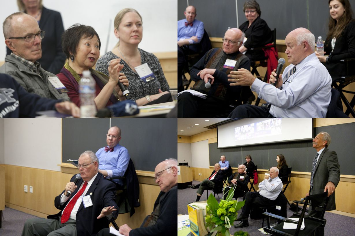 panel discussion at Alumni Weekend