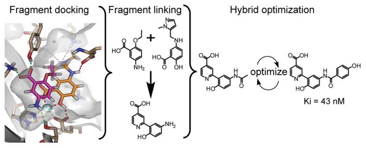 Docking fragments diagram