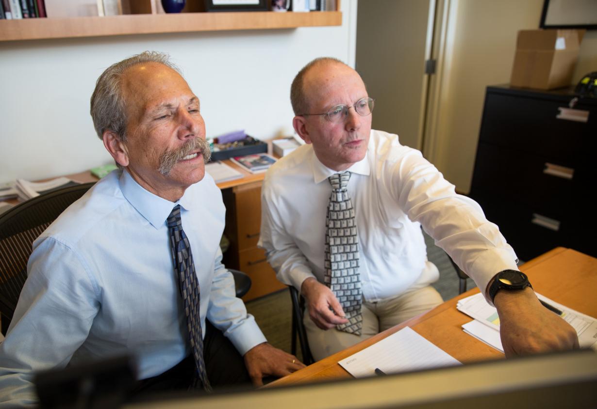 Dean Guglielmo and Michael Nordberg