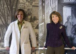 Marilyn Stebbins, PharmD (image left), and Helene Levens Lipton, PhD (image right)