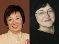 """<p>  <abbr title=""""University of California, San Francisco"""">UCSF</abbr> School  of Pharmacy Dean <strong>Mary Anne Koda-Kimble, <abbr title=""""Doctor of  Pharmacy"""">PharmD</abbr></strong> (image left), and <strong>Marilyn Speedie,  <abbr title=""""Doctor of Phil"""
