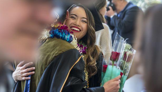 smiling graduate