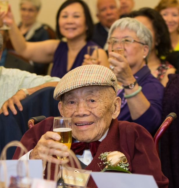 Edward Leong Way at birthday celebration