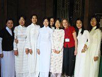 Paidan with staff