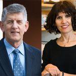 Kathy Giacomini, PhD, and Carl Peck, MD