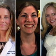 Rifkind Award winners, left-to-right: Janel Long-Boyle, PharmD, PhD; Caroline Lindsay, PharmD; Elisabeth Birdsall, PharmD