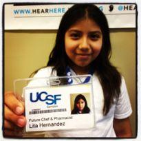 Future Chef and Pharmacist, Lita Hernandez