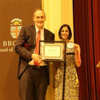 Tejal Desai Awarded Brown Engineering Alumni Medal