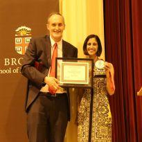 Tejal Desai Awarded Brown Engineering Alumni Medal