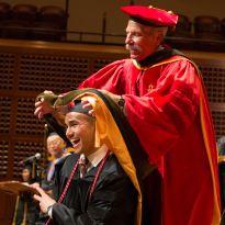 Guglielmo and graduate
