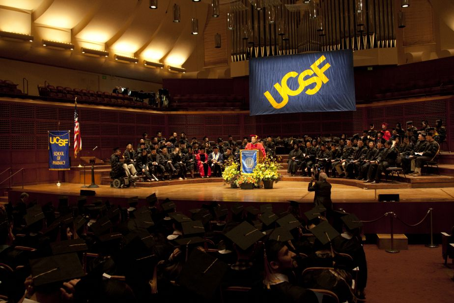 Commencement 2016 at Davies Symphony Hall