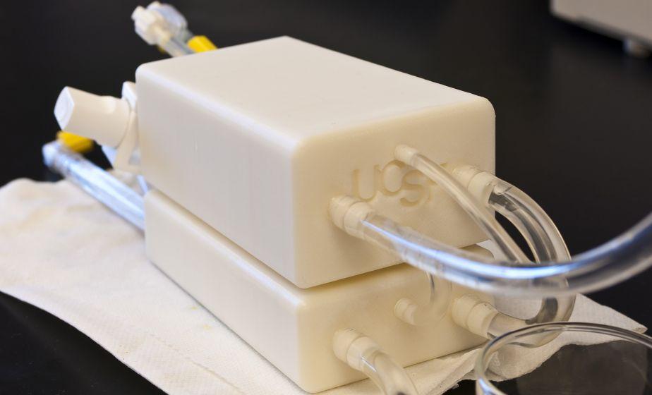 model of artificial kidney